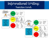Informational & Nonfiction Writing Transition Words