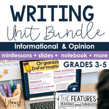 Informational & Opinion Writing