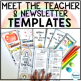 Meet the Teacher Template Editable Pamphlet | Back to School Night Open House