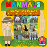 Informational Passages for Kindergarten, First Grade, and Second Grade {Mammals}