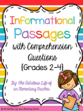 Reading Test Prep 3 (Grades 2-4)