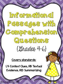 Reading Test Prep (Grades 4-6)