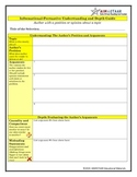 Informational-Persuasive Understanding and Depth Guide