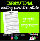 Informational Piece Writing Template