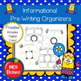 Informational Pre-Writing Organizers