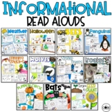 Informational Interactive Read Aloud Bundle #2- Lesson Plans and Activities