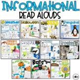 Informational Interactive Read Aloud Bundle #2- Lesson Pla