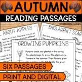 Fall Reading Passages with Questions