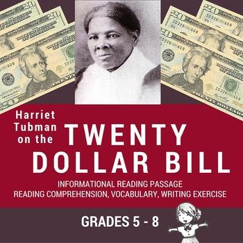 Informational Reading Passage - Harriet Tubman on the Twen