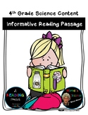 States of Matter-Informational Reading Passage|Science|Sec