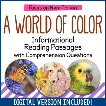 Reading Comprehension Passages - Color