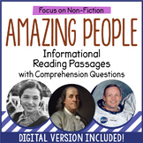 Reading Comprehension Passages - People
