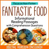 Reading Comprehension Passages - Fantastic Food