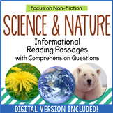 Reading Comprehension Passages - Science and Nature