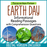 Earth Day Reading Comprehension Passages - Distance Learning - Google Classroom