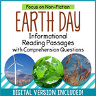 Earth Day Reading Comprehension Passages