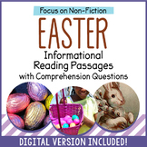 Easter Reading Comprehension Passages - Distance Learning - Google Classroom