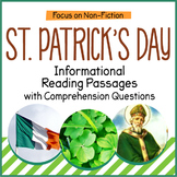 St. Patrick's Day Reading Comprehension Passages