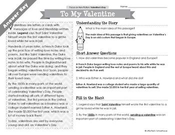 Valentine's Day Passages