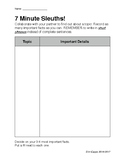 Informational Reading Practice