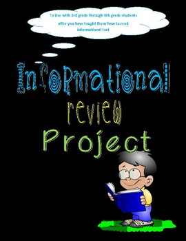 Informational Reading Project