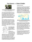 Informational Reading Text - Ancient China: The Han Dynasty (No Prep/Sub Plans)
