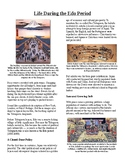 Informational Reading Text - Ancient Japan: The Edo Period (No Prep/Sub Plans)