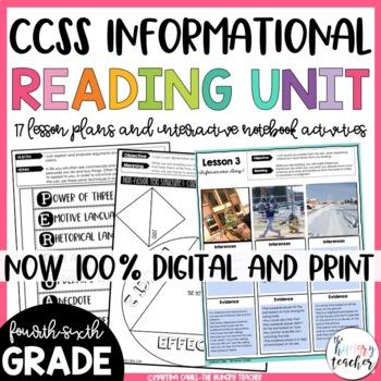 Informational Reading Unit Non-Fiction Reading Unit {4th,