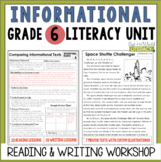 Informational Reading & Writing Unit: Grade 6...2nd Edition!