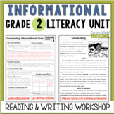 Informational Reading and Writing Unit: Grade 2...2nd Edition!!