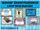 Informational Reading and Writing Winter Bundle