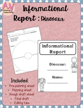 Informational Report - Dinosaur