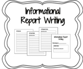 Informational Report Research Packet