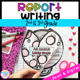 Informational Report Writing Interactive Journal- W.2.1/ W.3.1