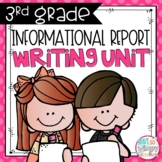 Informational Report Writing Unit THIRD GRADE