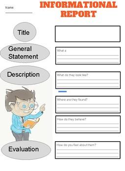 Informational Report teachers