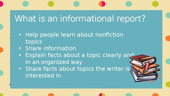Informational Reports PPT