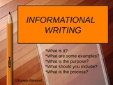 Informational Writing (Research Report) Powerpoint