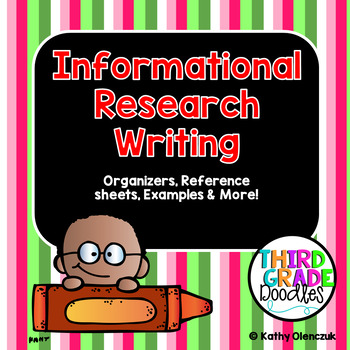 Information Writing - Research Project