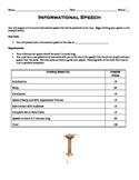 Informational Speech Outline