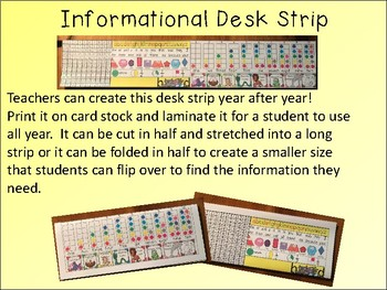 Desk Plate for Students