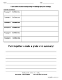 Informational Summary Practice Sheet