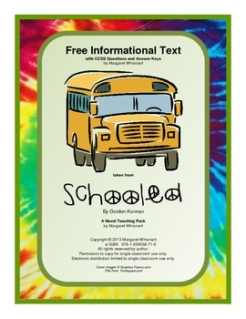 Informational Text: The American Search for Utopia:  Free (CCSS Aligned)