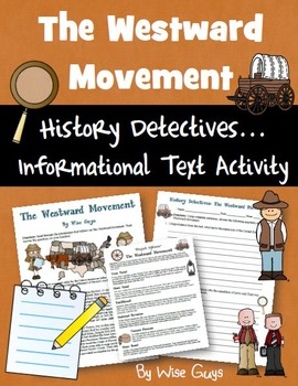Westward Movement Informational Text Activity