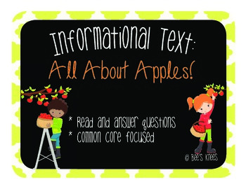 Informational Text: All About Apples!
