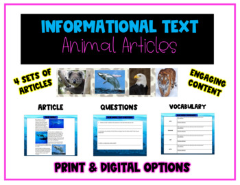 Amazing Animal Articles