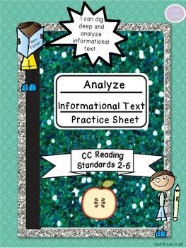 Informational Text Analysis Practice Sheet