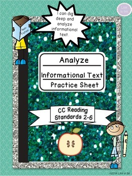 Informational Text Analysis Practice Sheet