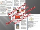 Informational Text - Ancient Egypt Bundle (No Prep Sub Plans)