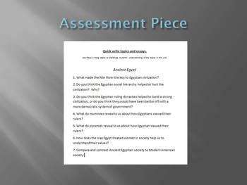 Informational Text - Ancient Egypt Bundle (No Prep Sub Plans)